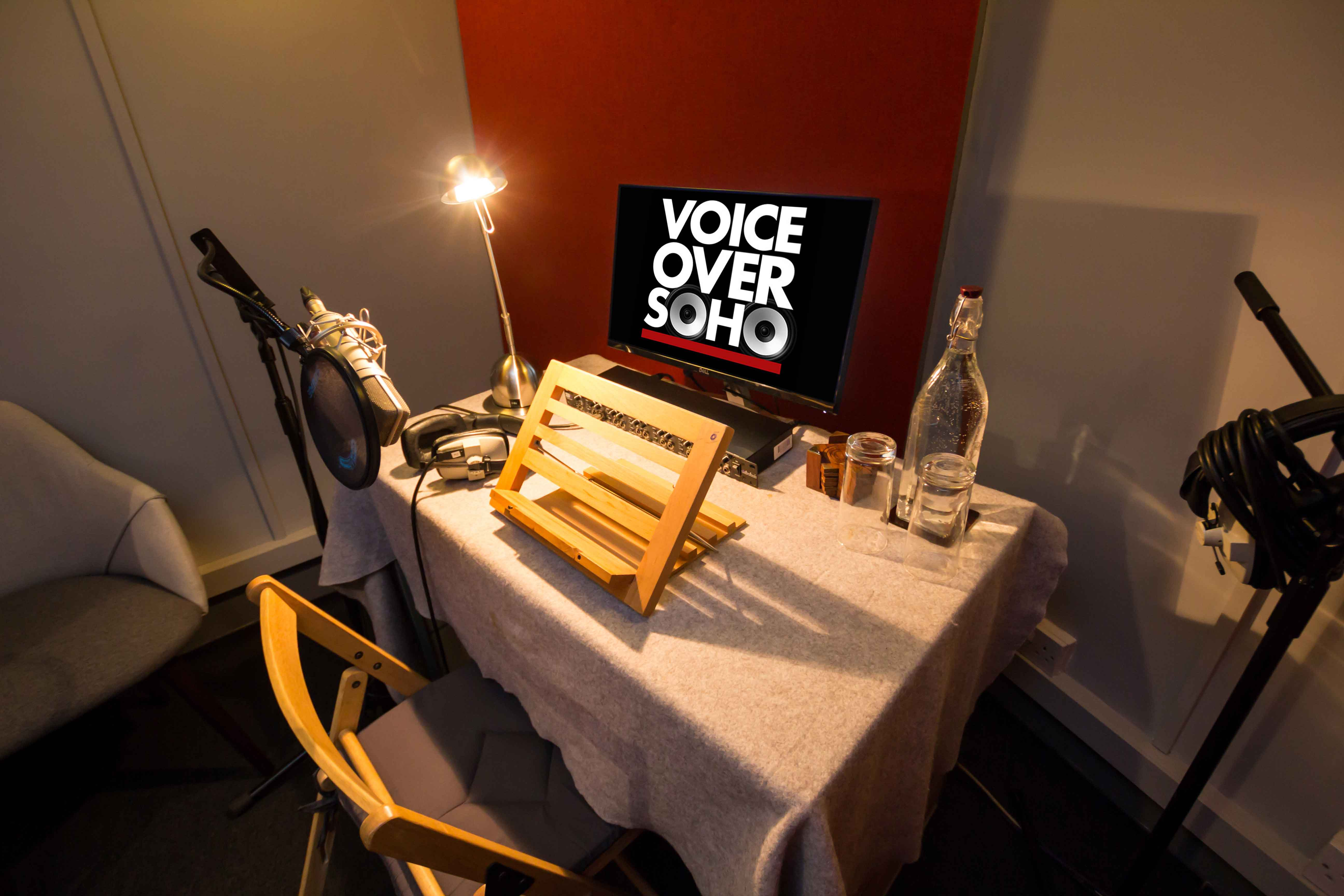 About Voiceover Soho Audio Production Studio London