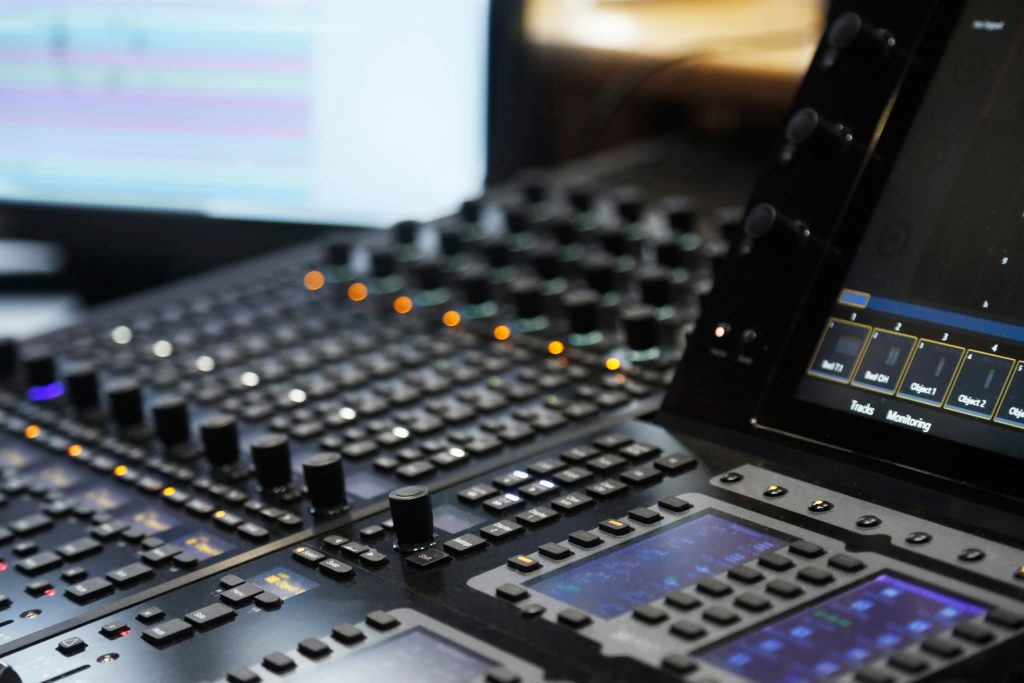 voice over studio equipment