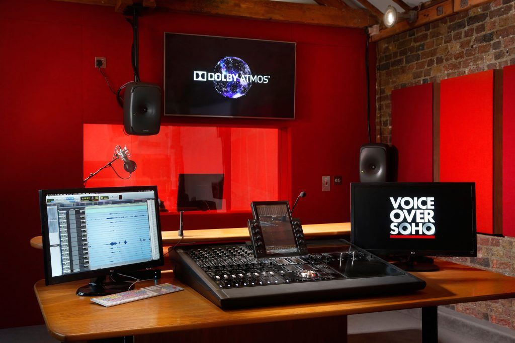 voiceover agents studio london