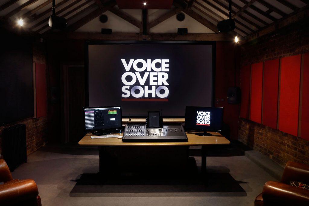 voiceover soho studio room