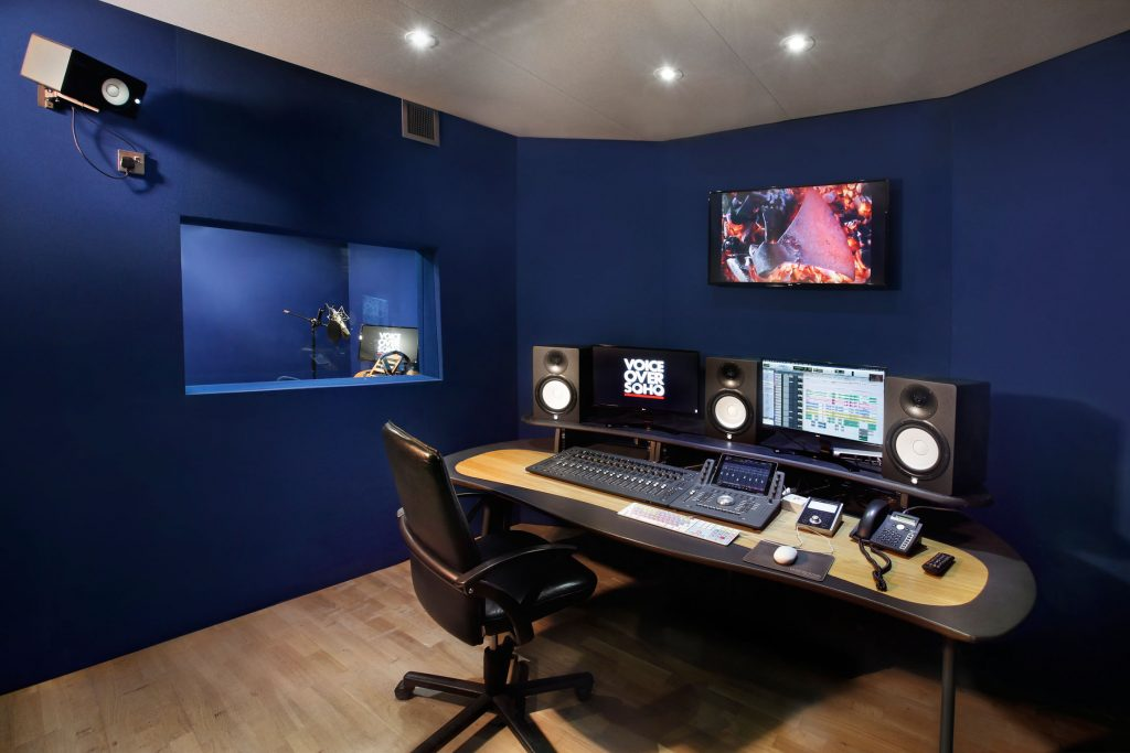 recording voiceover in london