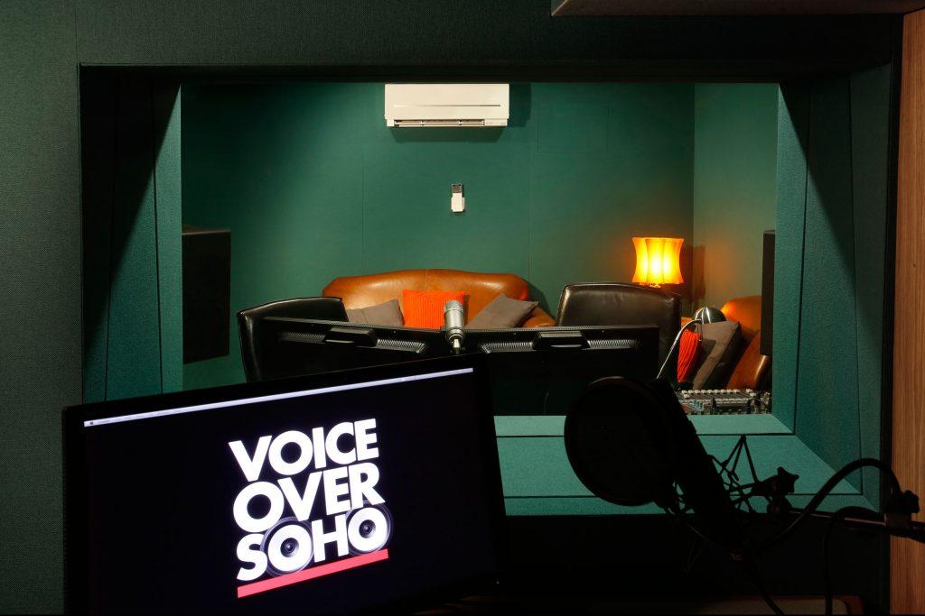 voiceover talent recording studio