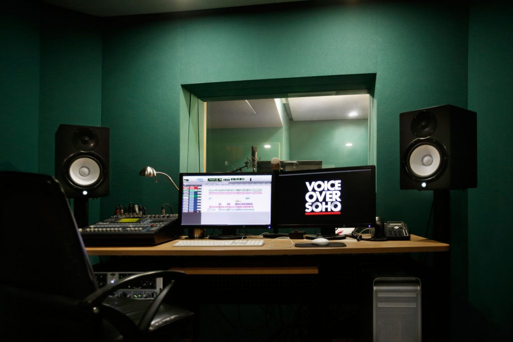 soho voiceover studio london