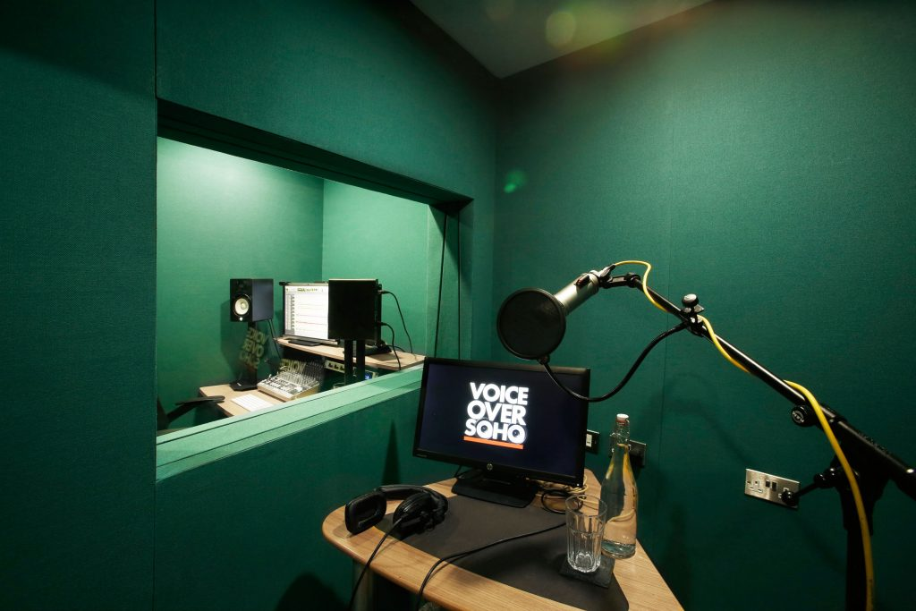 voice recording london studio