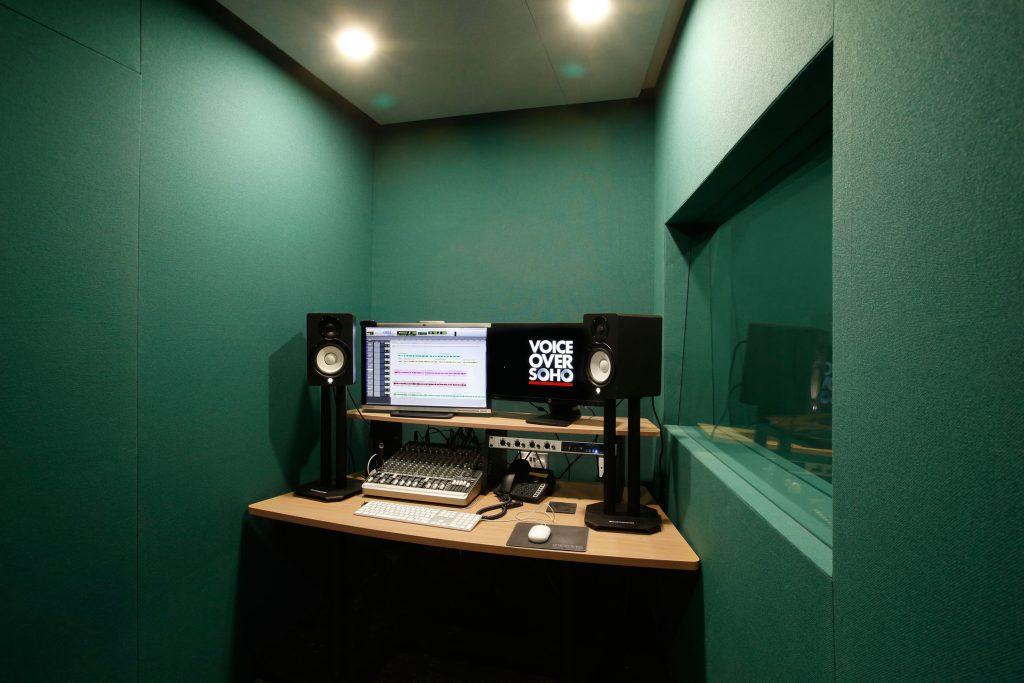 studio voiceover